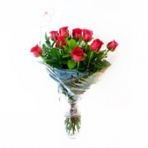 Decena de Rosas rojas