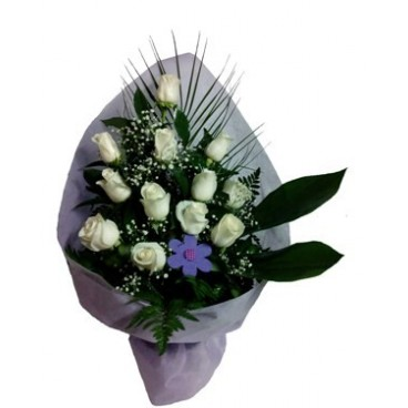 Rosas blancas PUREZA