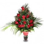 Docena de Rosas Rojas I LOVE YOU